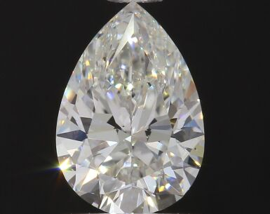 A 1.09 Carat Pear-Shaped Diamond, H Color, VS2 Clarity