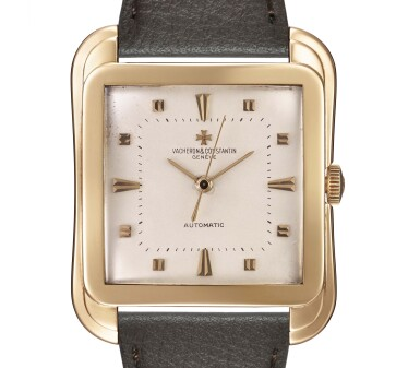 View 1. Thumbnail of Lot 5. VACHERON CONSTANTIN | 18K YELLOW GOLD AUTOMATIC GENTLEMAN'S WRISTWATCH, REF 6440.