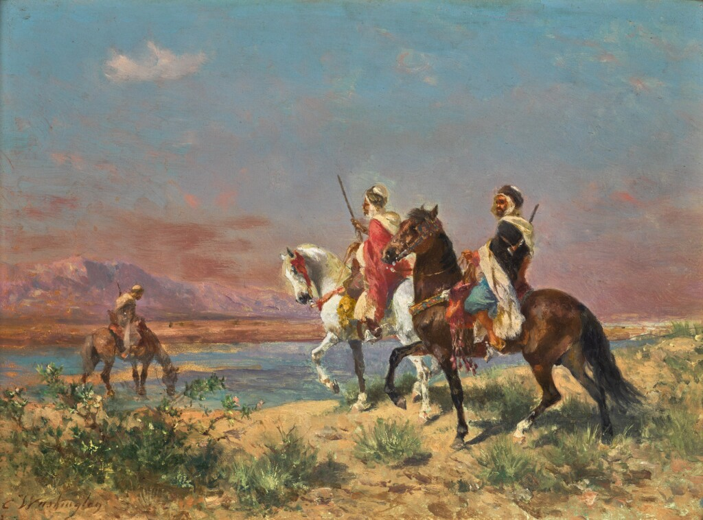 GEORGES WASHINGTON | RIDERS IN A LANDSCAPE