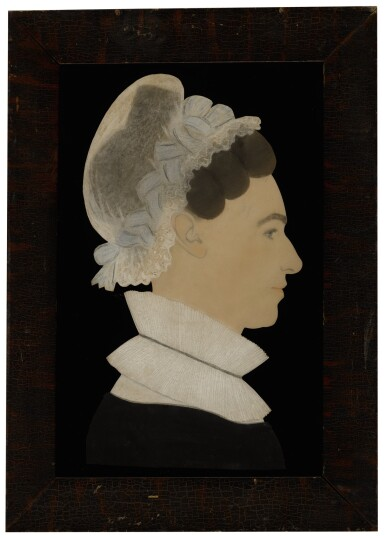 View 1. Thumbnail of Lot 1437. RUTH HENSHAW MILES BASCOM | PROFILE OF A WOMAN.