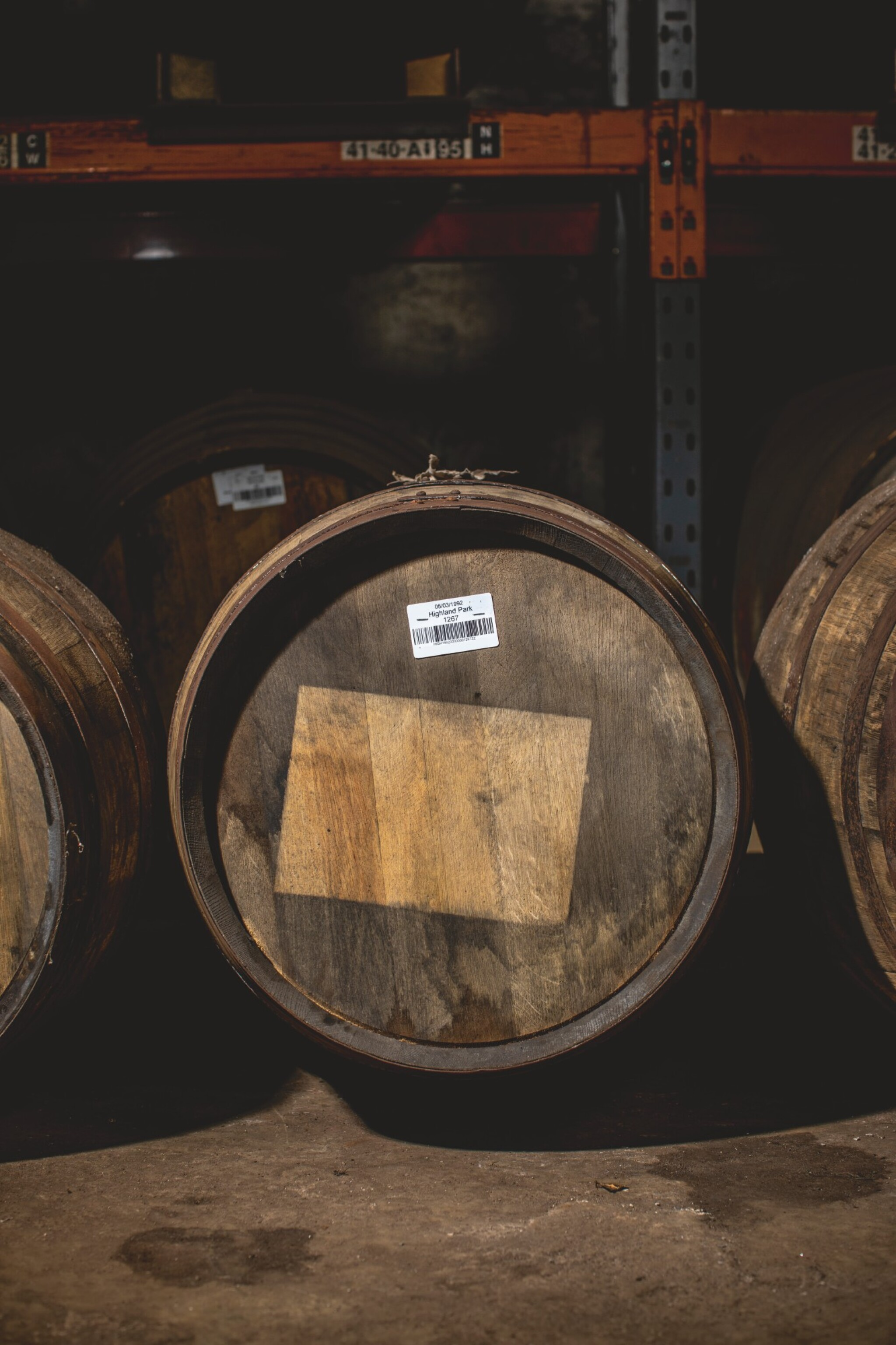 View full screen - View 1 of Lot 291. FIRST FILL OLOROSO SHERRY CASK OF HIGHLAND PARK 1992.