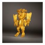DIQUÍS GOLD FIGURAL PENDANT CIRCA AD 800-1200