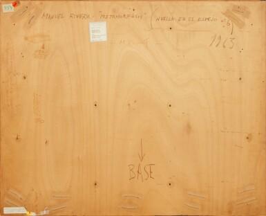 View 3. Thumbnail of Lot 531. Metamorfosis (huella en el espejo no. 6).