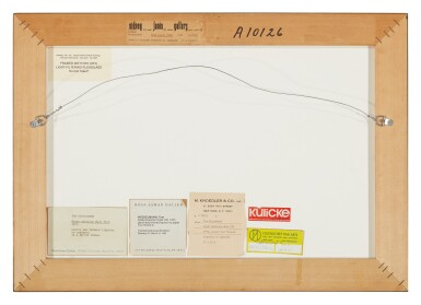 View 2. Thumbnail of Lot 550. TOM WESSELMANN   FROM GREAT AMERICAN NUDE #100 .
