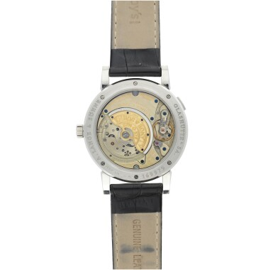 REFERENCE 309.025 SAX-O-MAT A PLATINUM AUTOMATIC WRISTWATCH WITH DATE, CIRCA 2005