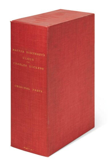 Dickens, Master Humphrey's Clock, 1840, first edition, original monthly parts