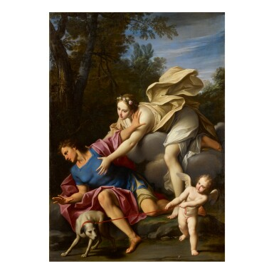 View full screen - View 1 of Lot 160. MARCANTONIO FRANCESCHINI | AURORA AND CEPHALUS.