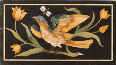 A SET OF FOUR ITALIAN PIETRA DURA PANELS, FLORENCE CIRCA 1700