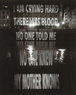 JENNY HOLZER   NO ONE TOLD ME, 2006