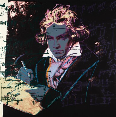 View 5. Thumbnail of Lot 188. ANDY WARHOL | BEETHOVEN (F. & S. II.390-393).