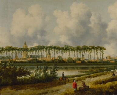 View 1. Thumbnail of Lot 554. A view of Gorinchem from the southwest.