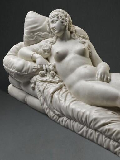 WORKSHOP OF LORENZO BARTOLINI (1777-1850), ITALIAN, 19TH CENTURY,  AFTER TITIAN (1488/90-1576) | VENUS OF URBINO