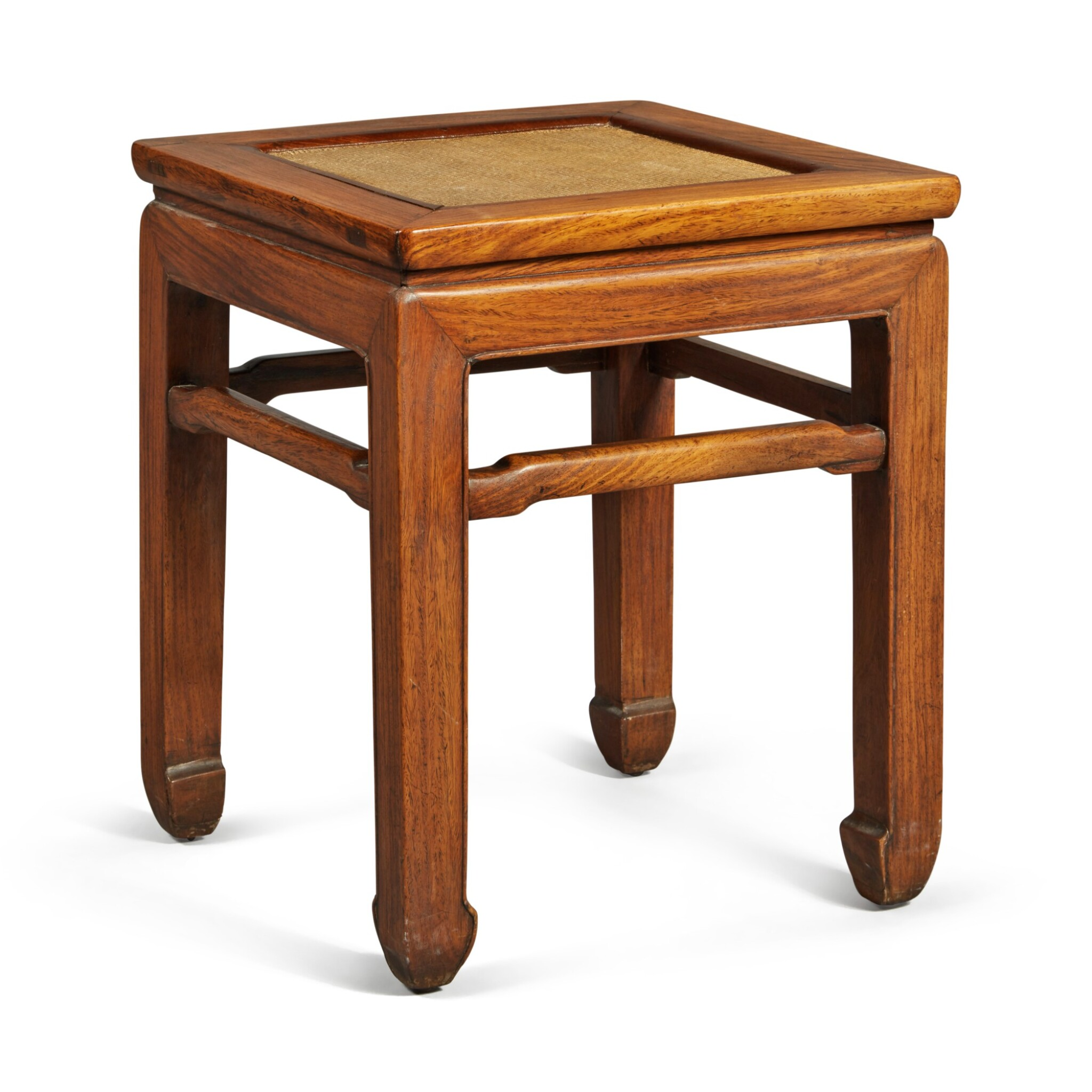 View full screen - View 1 of Lot 146. A 'huanghuali' stool, Qing dynasty .