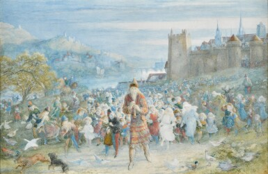 View 1. Thumbnail of Lot 23.   The Pied Piper of Hamelin.