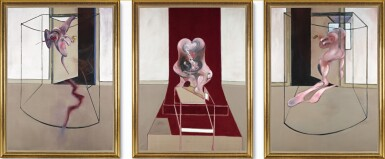 View 1. Thumbnail of Lot 105. FRANCIS BACON | TRIPTYCH INSPIRED BY THE ORESTEIA OF AESCHYLUS.