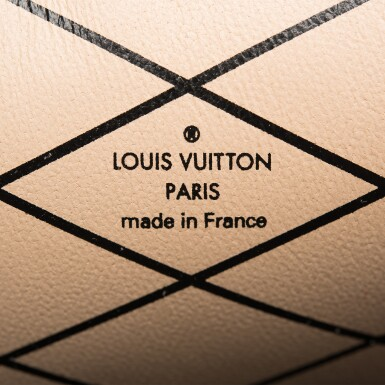 View 8. Thumbnail of Lot 115. Louis Vuitton Trunk Clutch of Reverse Monogram Canvas with Polished Brass Hardware .