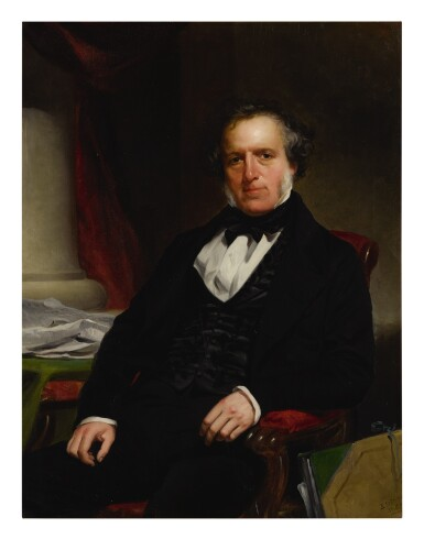 CHARLES LORING ELLIOTT   PORTRAIT OF JOHN BIGELOW