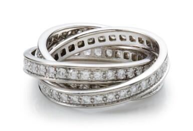 View 1. Thumbnail of Lot 1006. DIAMOND RING, 'TRINITY' CARTIER.