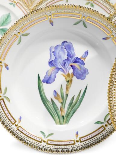 View 2. Thumbnail of Lot 89. A Set of Twelve Royal Copenhagen 'Flora Danica' Dinner Plates, Modern.