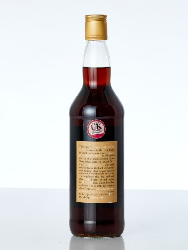 View 2. Thumbnail of Lot 7613. Macallan Crowther MacDougall 25 Year Old Cask #7821 48.1 abv 1984 (1 BT70).