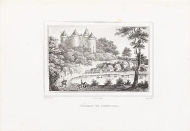 View 3. Thumbnail of Lot 109. [Esquisses sur la Bretagne]. Album de 12 lithographies. Armes de la duchesse de Berry..