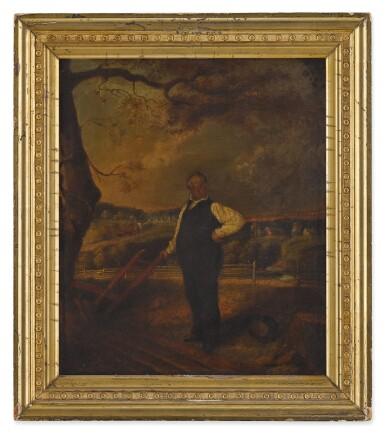 View 1. Thumbnail of Lot 17. John F. Francis, Portrait of Joseph Ritner.