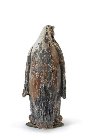 View 5. Thumbnail of Lot 132. A PAINTED PLASTER FIGURE OF AN EMPEROR PENGUIN, POSSIBLY FRENCH, MID-20TH CENTURY.