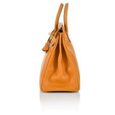 View 3. Thumbnail of Lot 59. Gold HAC Birkin 32cm in Ardennes Leather with Gold Hardware, 2004.
