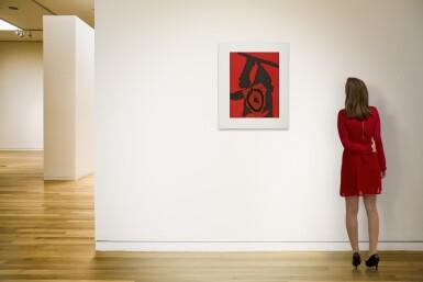 ROBERT MOTHERWELL | THE RED QUEEN (WALKER ART CENTER 476)