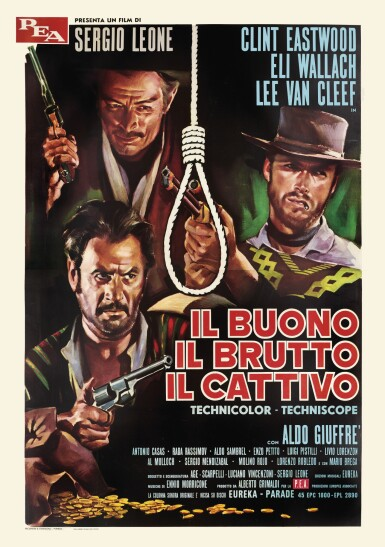 Lot 124 Il Buono Il Brutto Il Cattivo / The Good, the Bad and the Ugly (1966) poster, Italian