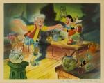 PINOCCHIO (1940) JUMBO LOBBY CARD, US