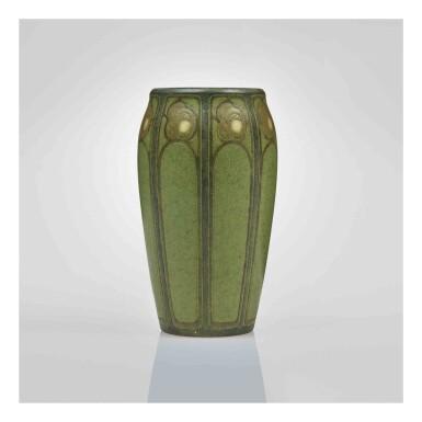 "View 1. Thumbnail of Lot 318. A Rare ""Rose"" Vase."