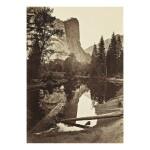 CARLETON E. WATKINS | WASHINGTON COLUMN, 208 FEET, YOSEMITE