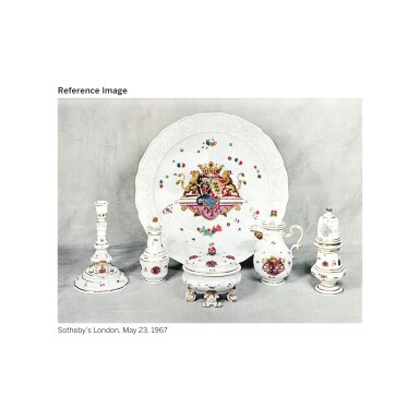 View 3. Thumbnail of Lot 388. A MEISSEN ARMORIAL WASTE-BOWL FROM THE 'SULKOWSKI SERVICE' CIRCA 1738.