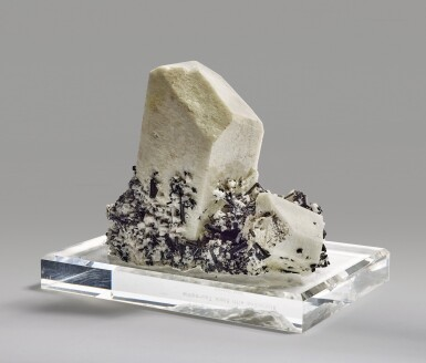 View 3. Thumbnail of Lot 269. Microcline with Schorl.