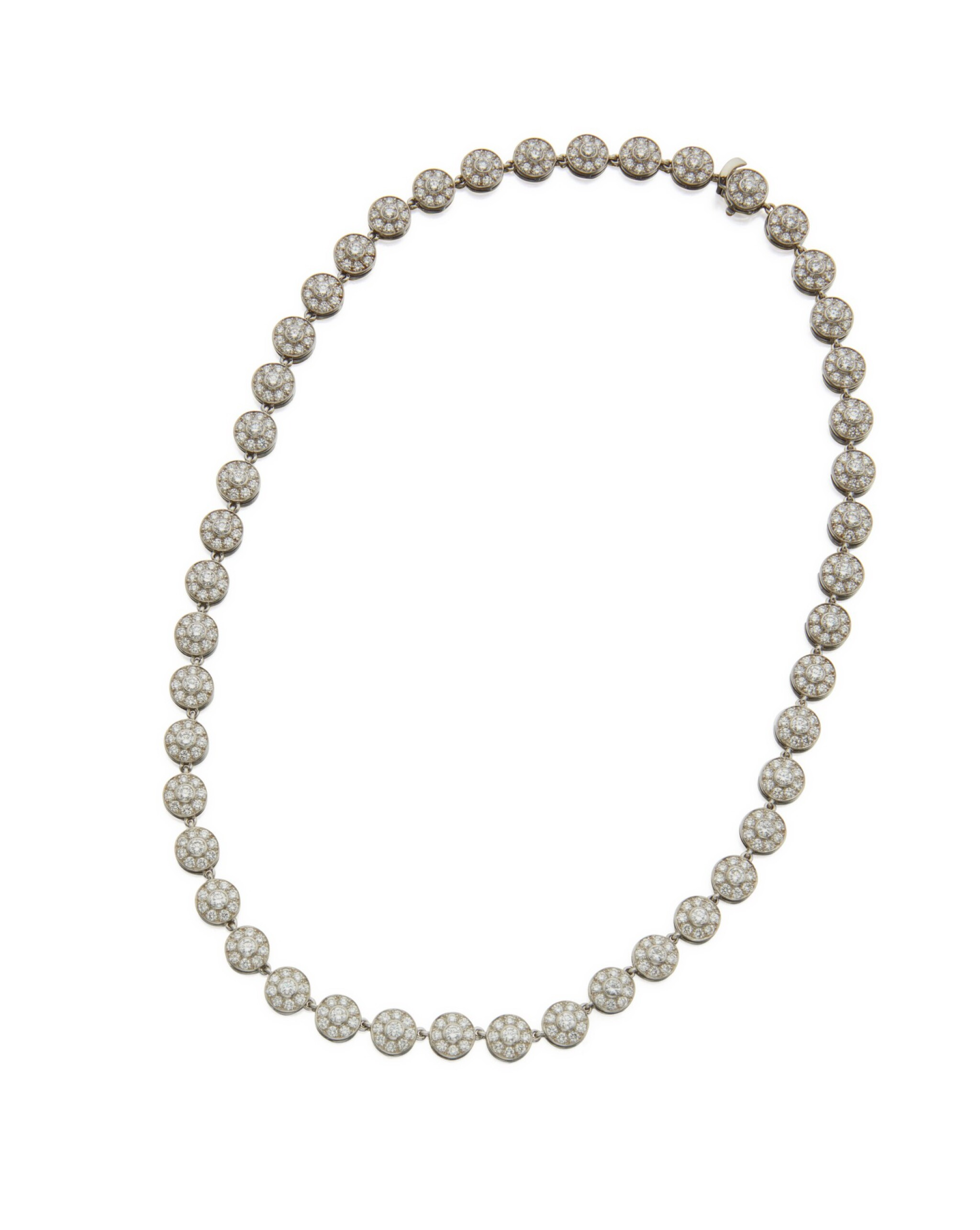 View full screen - View 1 of Lot 94. DIAMOND NECKLACE, TIFFANY & CO., FRANCE.