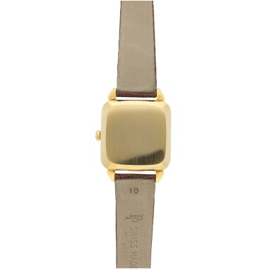 View 4. Thumbnail of Lot 143. REFERENCE 2540 A YELLOW GOLD SQUARE AUTOMATIC WRISTWATCH, MADE IN 1957.