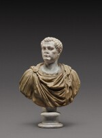 A Roman Marble Portrait Bust of a Man, the head circa A.D. 80, the shoulders 2nd Century A.D.