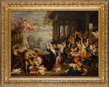 View 2. Thumbnail of Lot 134. The Massacre of the Innocents, after Rubens.