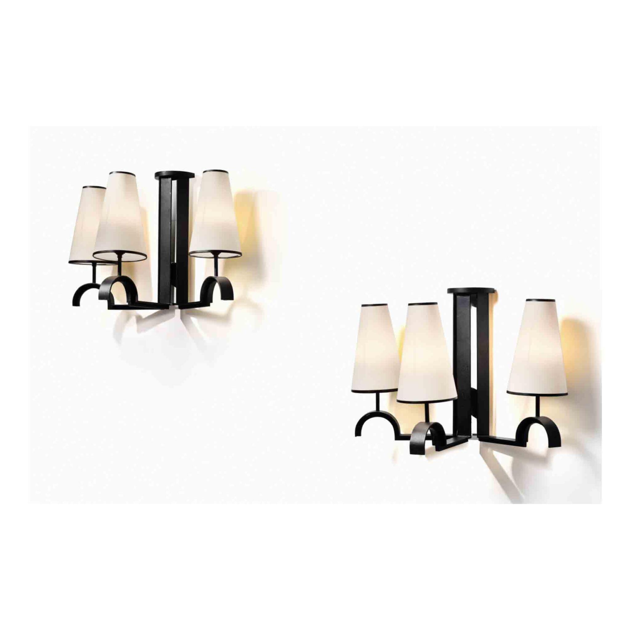 View full screen - View 1 of Lot 96. Pair of Sconces.