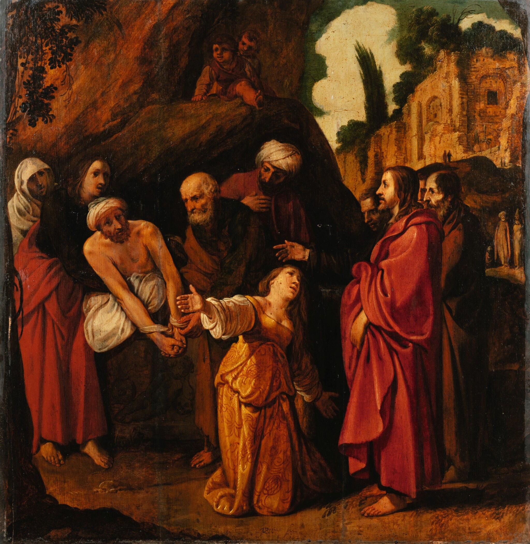 View full screen - View 1 of Lot 23. The Raising of Lazarus.