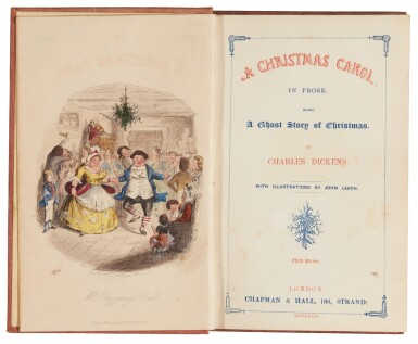 Dickens, A Christmas Carol, 1843, third edition