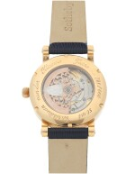 CHRISTIAAN VAN DER KLAAUW   VENUS 2006  A LIMITED EDITION PINK GOLD AUTOMATIC WRISTWATCH WITH ASTRONOMICAL DIAL, CIRCA 2006