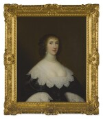 CORNELIUS JOHNSON | PORTRAIT OF LADY ELIZABETH CRAVEN (NÉE FAIRFAX), WIFE OF SIR WILLIAM CRAVEN OF LENCHWICK (1610-1655), HALF LENGTH