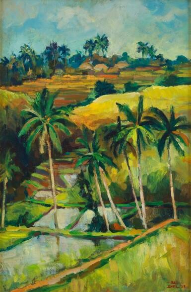 View 1. Thumbnail of Lot 4573. Balinese Landscape | 巴厘島風景.