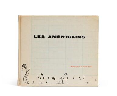 View 1. Thumbnail of Lot 39. (book) Les Américains, 1958..