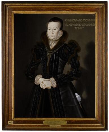 View 2. Thumbnail of Lot 7. Portrait of Joan Thornbury, Mrs Richard Wakeman | 《瓊・桑伯里,理查德・韋克曼夫人肖像》.