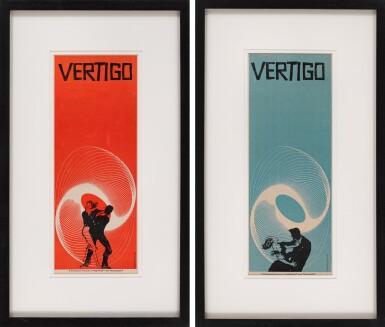 VERTIGO (1958) TRADE ADVERTISEMENTS, US