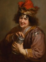 JAN COSSIERS | A young man holding a tankard