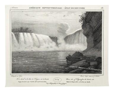 View 4. Thumbnail of Lot 225. Milbert, Jacques-Gérard |  An outstanding series of American views.